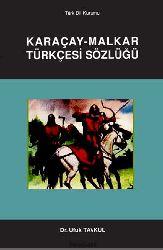 Qaraçay Malqar Türkcesi sözlügü