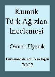 Kumuk Türk Ağızları Incelemesi