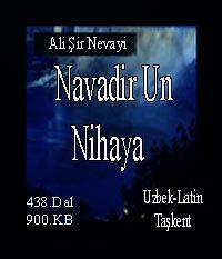Navodir Un Nihoya Alisher Navoiy
