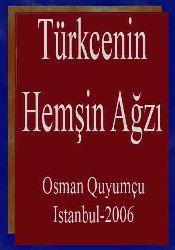 Türkcenin Hemşin Ağzı