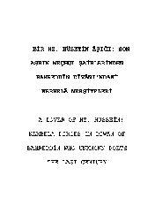 Novhe-Bir Hazreti. Hüuseyin Aşiği-Behretdin Divanındaki Kerbela Mersiyeleri-Kamil Ali Giynaş-55s