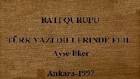 Bati Qurupu Türk Yazi Dillerinde Feil