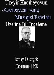 Üzeyir Hacıbeyovun-Azerbaycan Xalq Musiqisi Esasları-Üzerine Bir Inceleme