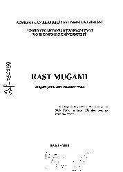 Rast Muqami-Muqam Fenni Üzre Metodik Vesait-Vamiq Memmedli-Baki-2010