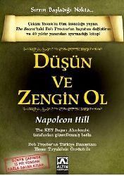 Düşün Ve Zengin Ol-Sirrin Bashlanqıcı Nuxde-Napoleon Hill-Zeliha İyidoğan Babayiğit-2007-231s