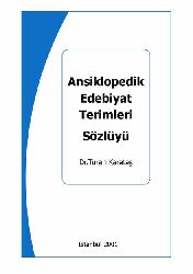 ensiklopedik Edebiyat Terimleri Sözlügü-Turan qaradash