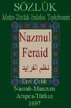 Nazmul Feraid-Metin-Sözlük-Indeks-Tıpkıbasım