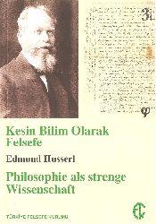 Kesin Bilim Olaraq Felsefe-Edmund Husserl-2014-144s