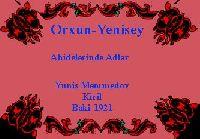 Orxun-Yenisey Abidelerinde Adlar