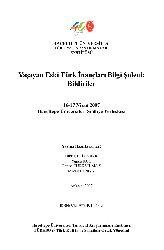 Yaşayan Eski Türk Inancları Bilgi Şöleni-Bildiriler-2007-126s