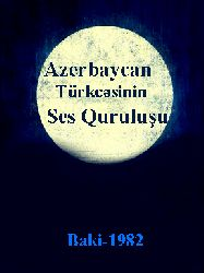 Azerbaycan Dilinin Ses Quruluşu