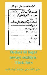 Bedayiül Luğat-Nevayi Sözlügü-Türk-Fars