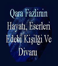 qarafezlinin Hayatı, Eserleri, Edebi Kişilği Ve Divanı Mustafa Özqat