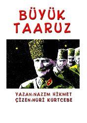 Büyük Teeruz (Çizgi Ruman)-Nazim Hikmet-Çizen-Nuri Qurtcebe-72s