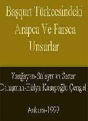 Başkurt Türkcesindeki  Erebce  Ve Farsca Unsurlar