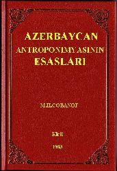 Azerbaycan Antiroponimyasinin Esaslari