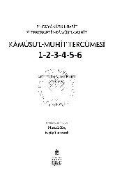 El Uqyanusul Besit Fi Tercumetül Qamusul Mühit-1-2-3-4-5-6-Qamusul Muhit Çevrisi-Asim Efendi-2013-6000s
