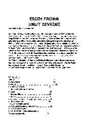 Umut Devrimi-Erich Fromm-110s