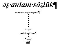 Turuz Eşanlam Sözlük-(Fars-Ereb)-Türkce-1-2-3-Bey Hadi-Tebriz-2021
