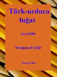 Türk-urduca luğat-qaraçi