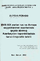 Azerbaycan Toponimleri