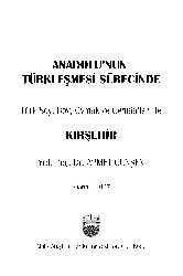 Anadolunun Türkleşmesi Sürecinde Toplumlari Ile Qırşehir Ahmed Günşen 1997 114