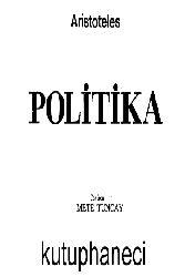 Aristoteles-Politika-Mete Tuncay-1975-247