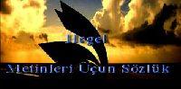 Hegel Metinleri Uçun Sözlük
