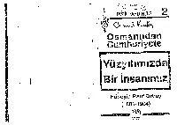 Osmanlıdan Cumhuriyete Yüzyılımızda Bir Insanımız  Hüseyin Rauf Orbay-1881-1964-Cemal Qutay-1992-342s
