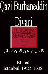 Qazi Burhanetdin Divani