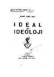 İdeal Ve İdeoloji-Remzi Oğuz Arıq-1955-126s