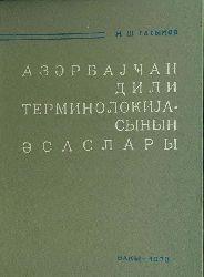 Azerbaycan Türkcesinin Terminolojya Esasları - M.Ş.Qasımov – Kiril - Baki -1973 – Elm Neşriyyatı – 187 S
