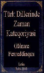 Türk Dillerinde Zaman Kateqoriyasi