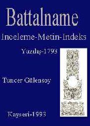 Battalname-Gramer (Inceleme-Metin-Indeks)