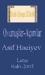 Dede Qurqud Kitabi-Oxunuşlar-Açımlar