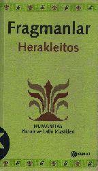 Fraqmanlar Herakleitos Yunanca-Türkce Çingiz  Çaxmaq 2005 334s