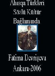 Ahısqa Türkleri-Sözlü Kültür Bağlamında