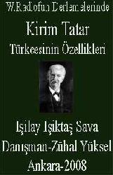 W.Radlofun Derlemelerinde Kirim Tatar Türkcesinin Özellikleri