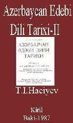 Azerbaycan Edebi Dili Tarixi -II-