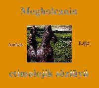 Moğolcanın Etimolojik Sözlügü