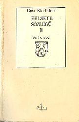 Felsefe Sözlüğü-II-Voltaire-Çev-Lütfi Ay-1995-519s