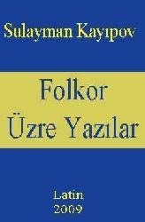 Folkor Üzre Yazılar