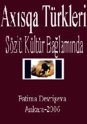 Axısqa Türkleri-Sözlü Kültür Bağlamında