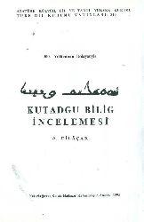 Qutadqu Bilik Incelemesi-A.Dilaçar-1995-208s