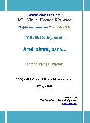 And Olsun Esre-Mövlud Süleymanlı-2016-910s