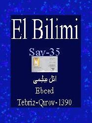 ELBILIMI-Say-35-ائل بیلیمی-Ebced-Tebriz-Qırov-1390