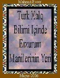 Turk Xalq Bilimi Içinde Erzurum Manilerinin Yeri-Bayati