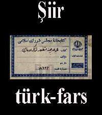 Şiir(türk-fars)