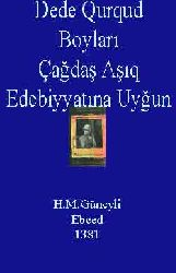 Dede Qurqud Boyları-Çağdaş Aşıq Edebiyatına Uyqun