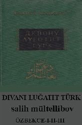 Divani Luğatit Türk (Özbek)-I-II-III